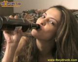 Bottle in pussy - N