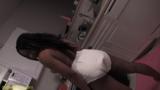 Ebony diaper slut humiliated and taught a lesson - N