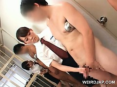 asian-slutty-police-women-rubbing-convicts-dicks-in-a-row
