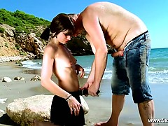 mandy-with-pigtils-analfucked-in-front-of-the-sea