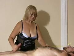 Big Titted Professional Masseuse Sensually Massages Client