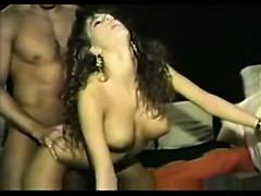 beautiful-brunette-milf-eating-cock