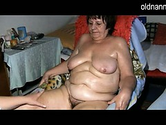 bbw-granny-and-young-girl-masturbating-together