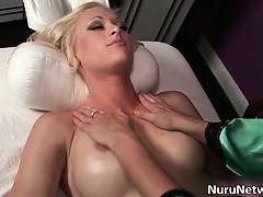Amazing Hot Blonde Slut Gets Fingered Part4