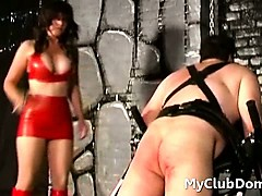 femdom-babe-spanking-strapped-down-guy