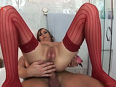 redhead-hotie-gets-nasty-and-rough-in-the-bathroom