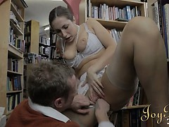 hot-bookworm-girl-drilled-hardcore-in-the-library