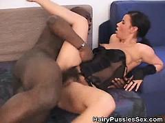 hairy vagina babe fucked by a black dude – سكس قوي نيك كسها ساخن