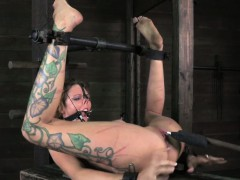tied-up-nipple-clamped-sub-clit-vibrated