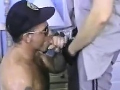 Cop Dominates A Hairy Guy
