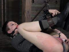 ball-gagged-bdsm-babe-pussy-pumped-up