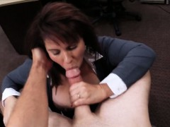 huge-boobs-milf-sells-her-husbands-stuff-for-his-bail