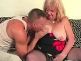 Granny got her pussy banged