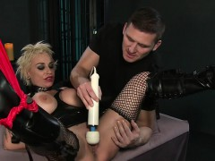 strapped-huge-tits-blonde-sub-gets-vibed-in-dungeon