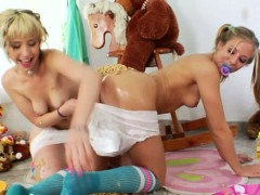 milk-enema-blonde-babes-mess-around