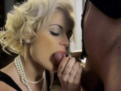 Blonde O Blonde Blowjob