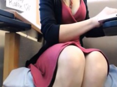 horny-brunette-toying-pussy-in-public