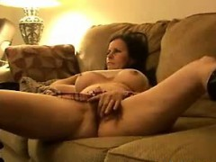 rubbing-my-hairy-pussy-on-the-couch