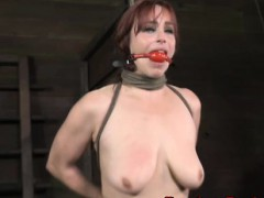 filthy-submissive-gagged-and-spanked