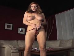 pornstarplatinum brings pornstar roxetta and her red panties