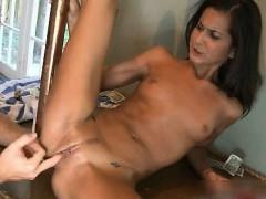 Nasty Brunette Slut Goes Crazy Getting Part4