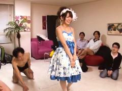 glamour-mayu-nozomi-enjoys-facial