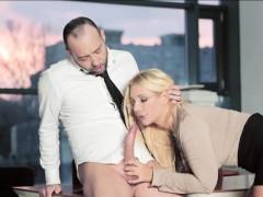 busty-secretary-kyra-filled-with-cum