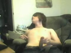 Hot Amateur Twink Big Dick Wank