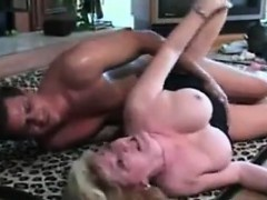 Gilf In Lingerie Wants His Young Cock