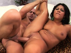 sexy asian lass with meat on her wais gets railed