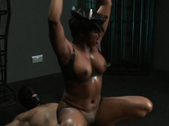 masked-sub-fucks-ebony-mistress-interracial-dungeon
