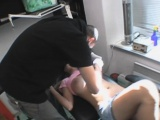 Hot Blonde Getting Her Nipple Pierced In Public