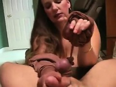 Handjob With Pantyhose Point Of View