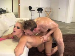 everhard gets wet and wild…with anikka albrite