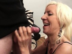 french mature charlie penetrated in stockings