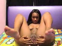 ebony-slut-teasing-her-body-while-naked