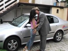 michelle-torn-up-on-the-bondage-mask-of-a-car