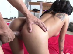 sizzling-hot-latina-bombshell-mara-gets-splatted-by-a-warm