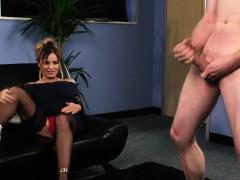 stockings-babe-gets-jizz