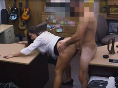 Big Butt Amateur Brunette Babe Screwed By Pawnkeeper