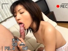 Hitomi Ikeno Is Stockings Gets Sucked Cock In Hairy Slit