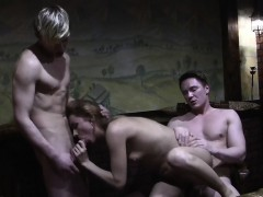 Mmf Porn Video Of A Lovely Slut Fucking Two Guys