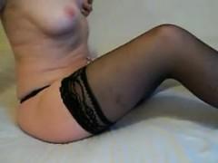 Amateur Mature Woman In Black Stockings