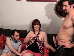 French Bbw Jenni Gangbanged