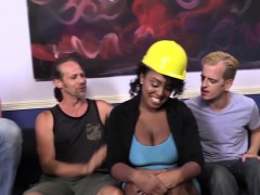 Layton Benton Gets Gangbanged By Her Workers Online