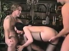 Double Penetrated For A European Slut