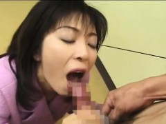 Kinky wife from Japan loves food dressed with semen