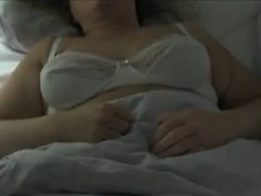 playing-with-her-mature-and-saggy-tits