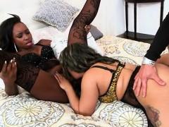 Naomi And Vixen Sucking Dick And Then Fucking