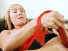 Horny Granny Masturbating And Squirting